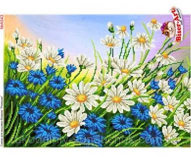 Схема для вишивки бісером Бисер-Арт Польові квіти (А543)