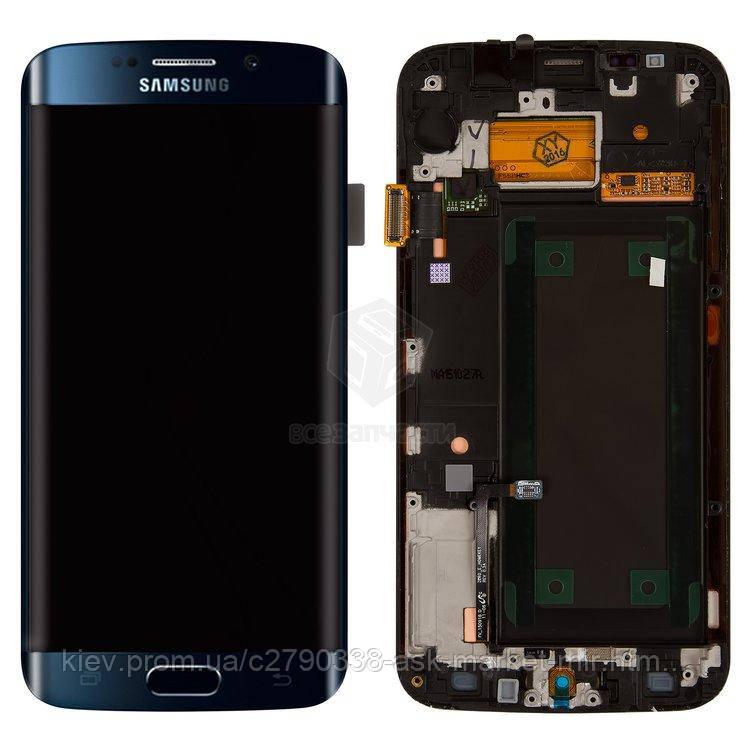 дисплей з сенсором і рамкою для Samsung Galaxy S6 Edge G925F