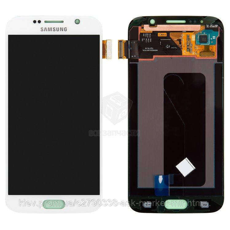 Оригінальний дисплей з сенсором для Samsung Galaxy S6 G920F;Galaxy S6 Duos G920FD