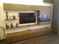 Стенка под телевизор в гостиную на заказ