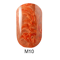Гель-лак Naomi Metallic Collection M10, 6 мл