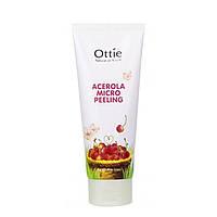 Пилинг-скатка для лица  Acerola Micro Peeling Ottie 150 мл.  С натуральной целлюлозой и ацеролой