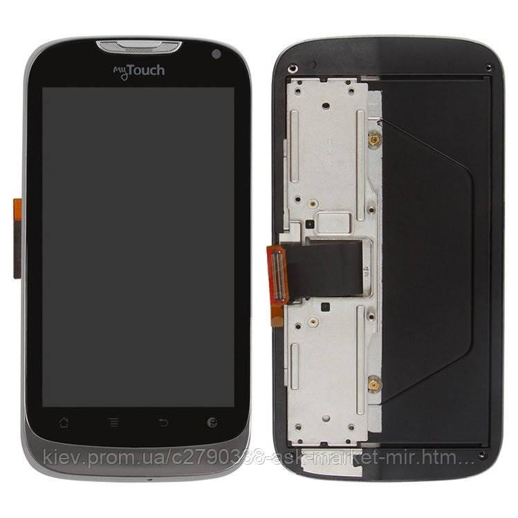 Оригинальный дисплей с сенсором и рамкой для T-Mobile myTouch