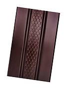 Панель ASKO без перфорации коричневый (3,5м * 0,305м = 1,07 м2)