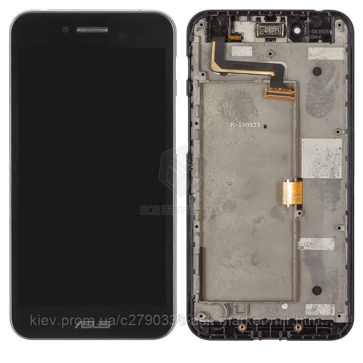 Оригинальный дисплей с сенсором и рамкой для Asus PadFone S PF500KL