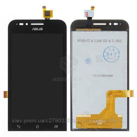 Дисплей для Asus ZenFone Go ZC451TG Original Black с сенсором, фото 2