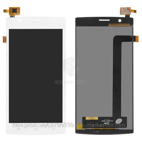 Дисплей для Fly FS501 Nimbus 3 Original White с сенсором, фото 2