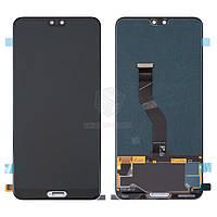 Дисплей для Huawei P20 Pro (CLT-L09, CLT-L29) Original Black с сенсором