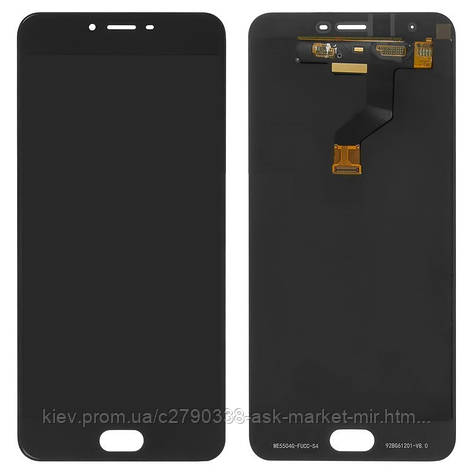 Дисплей для Meizu M3x M682 Original Black с сенсором, фото 2