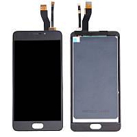 Дисплей для Meizu M5 Note (M621C, M621H, M621M, M621Q) Original Black с сенсором
