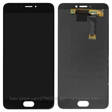 Дисплей для Meizu MX6 M685H Original Black с сенсором, фото 2