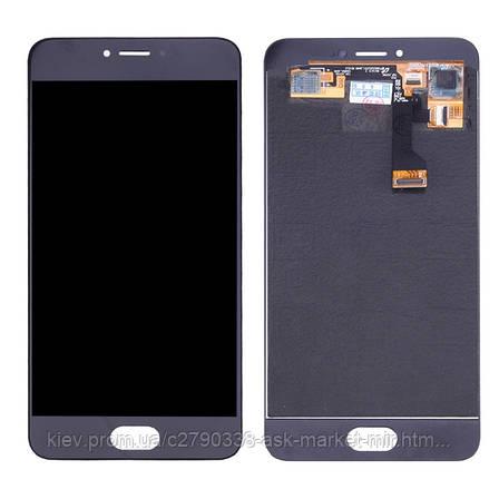 Дисплей для Meizu Pro 6 M570H, Pro 6s Original Black с сенсором, фото 2