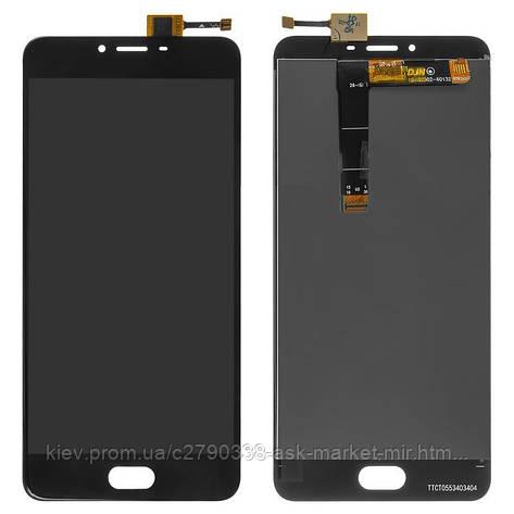 Дисплей для Meizu U20 U685H Original Black с сенсором, фото 2