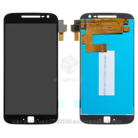 Дисплей для Motorola Moto G4 Plus (XT1640, XT1641, XT1642, XT1643, XT1644) Original Black с сенсором, фото 2