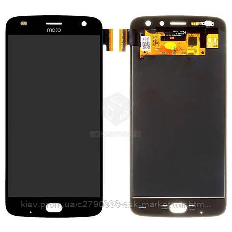 Дисплей для Motorola Moto Z2 Play XT1710-09 Original Black с сенсором, фото 2