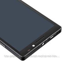 Дисплей для Nokia Lumia 930 Original Black с сенсором и рамкой, фото 3