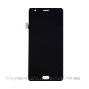 Дисплей для OnePlus 3 A3003, 3T A3010 Original Black с сенсором, фото 2