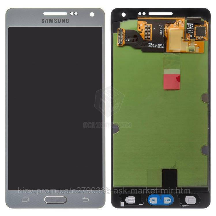 Оригинальный дисплей с сенсором для Samsung Galaxy A5 (A500F, A500FU, A500H)