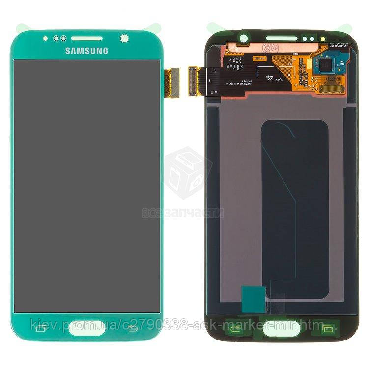 дисплей с сенсором для Samsung Galaxy S6 G920F;Galaxy S6 Duos G920FD