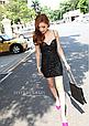 Эффектное мини платье из лайкры размер 42-44, фото 5