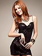 Эффектное мини платье из лайкры размер 42-44, фото 6