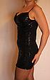 Эффектное мини платье из лайкры размер 42-44, фото 7