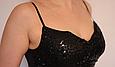 Эффектное мини платье из лайкры размер 42-44, фото 9