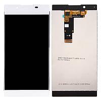Дисплей для Sony Xperia L1 (G3311, G3312, G3313) Original White с сенсором