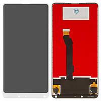 Дисплей для Xiaomi Mi Mix 2S Original White с сенсором