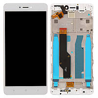 Дисплей для Xiaomi Redmi Note 4X Original White с сенсором и рамкой Snapdragon #BV055FHM-N00-1909_R1.0