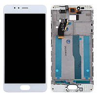 Дисплей для Meizu M5s M612H (M5s Mini) Original White с сенсором и рамкой