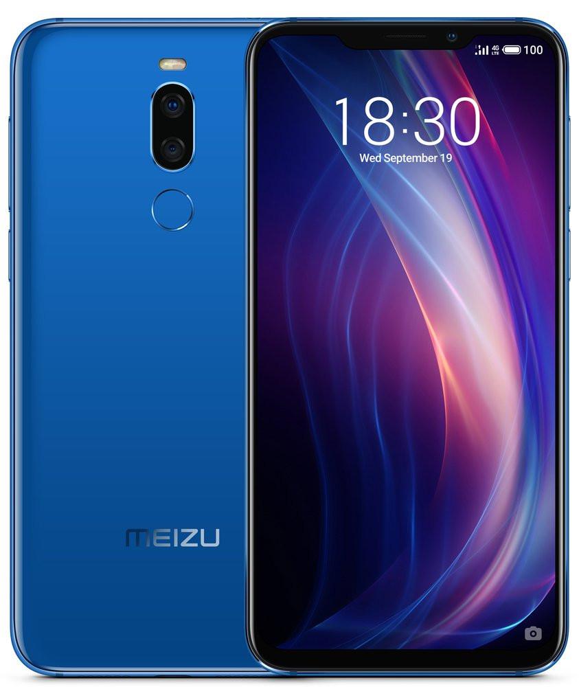 Глобальная версия Meizu X8 4/64 Синий .