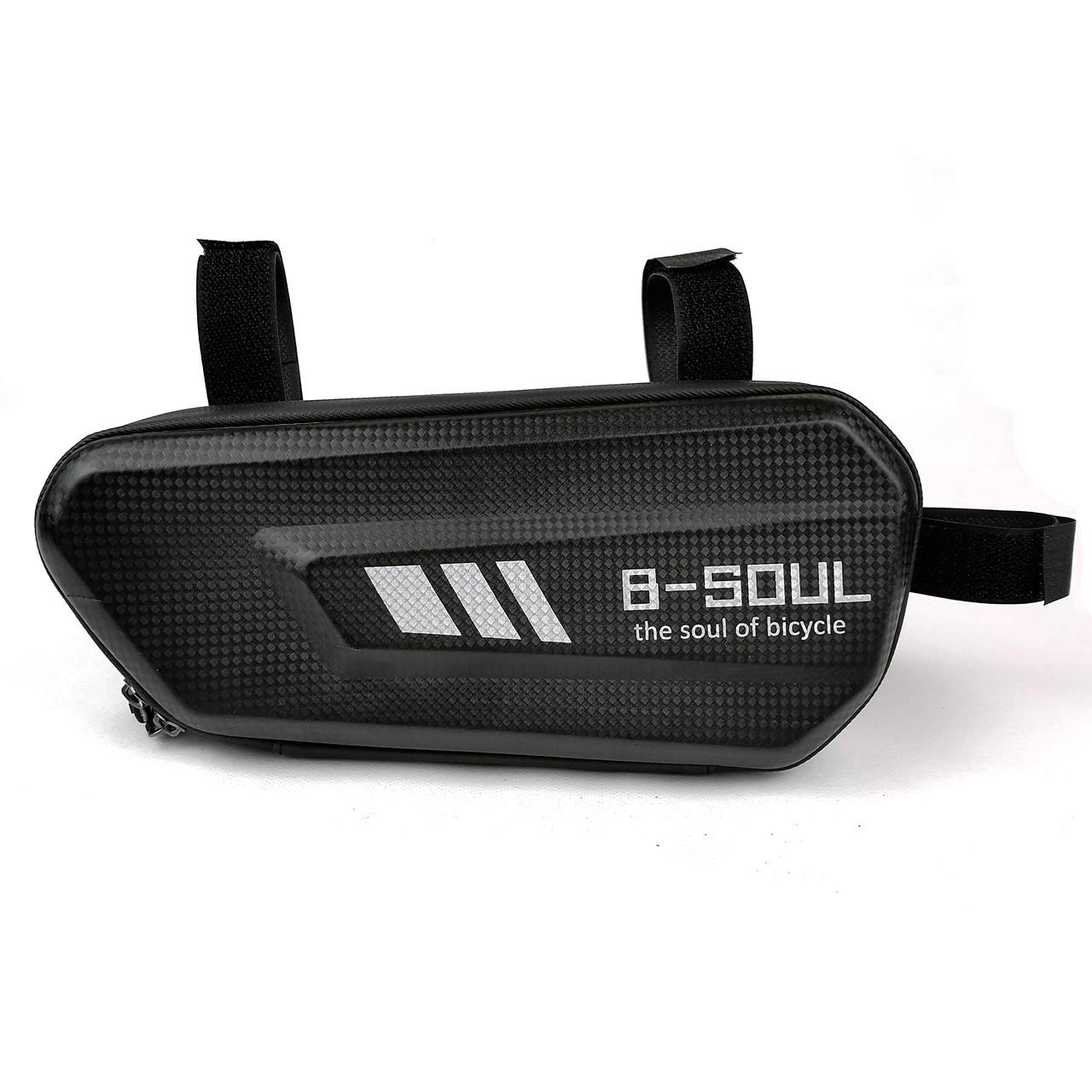 Велосипедная сумка B-Soul в раму черная