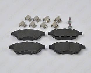 Дискові гальмівні колодки (передні) (4x4) на Renault Kangoo 2001->2008 - Ferodo (Англія) - FDB1544