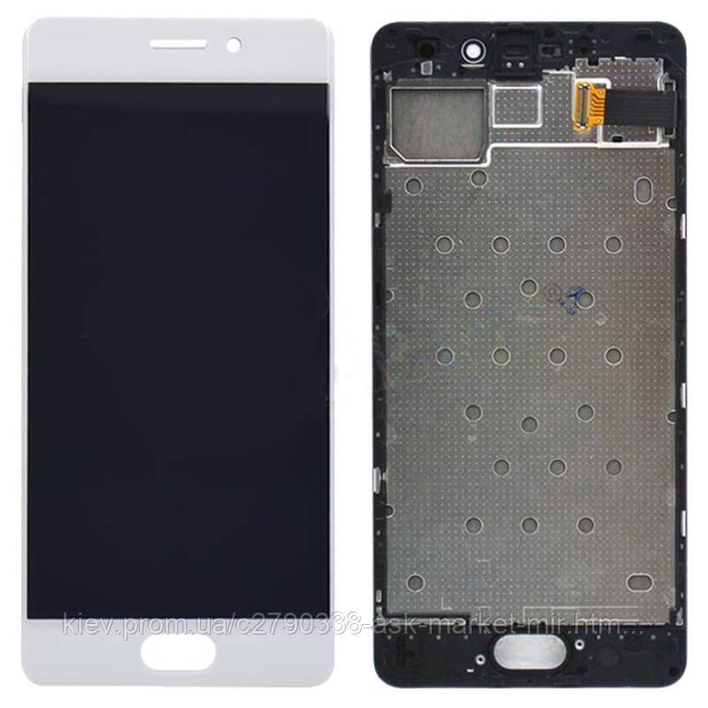 Оригинальный дисплей с сенсором и рамкой для Meizu Pro 7 M792H