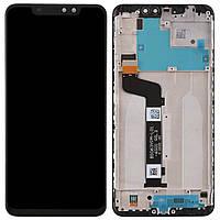 Дисплей для Xiaomi Redmi Note 6 Pro Original Black с сенсором и рамкой