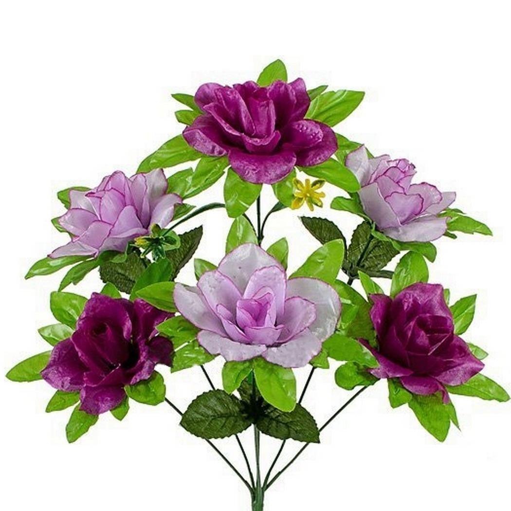Букет розы с подложкой, 45см(20 шт в уп)