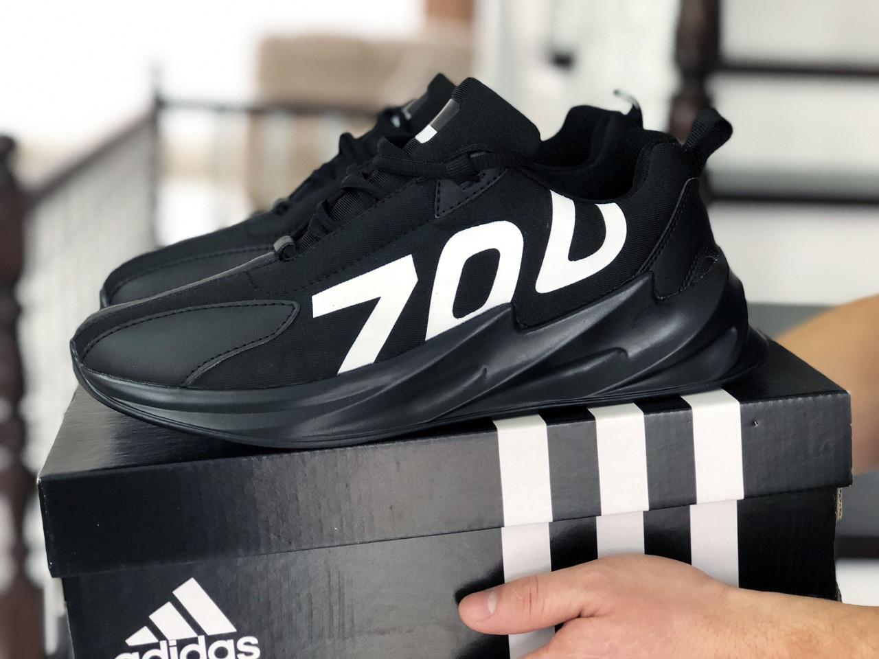 Мужские кроссовки демисезонные,повседневные 700 черные