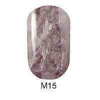 Гель-лак Naomi Metallic Collection M15, 6 мл