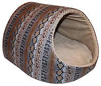 Лукошко-дом Питон (серый) для собак и кошек