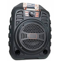Портативная колонка B-1201 (Bluetooth, FM, USB, LED дисплей) Orange