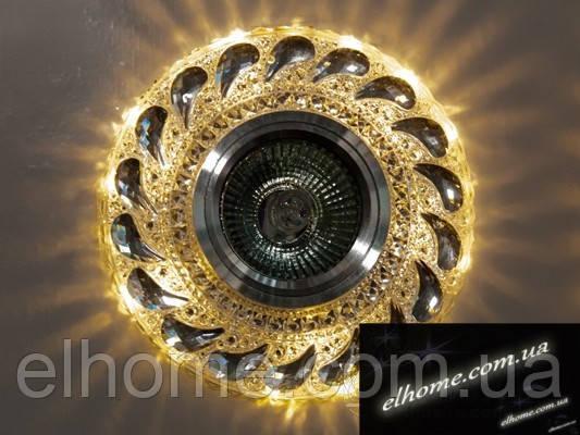 Збільшений точковий Світильник з вбудованою світлодіодною підсвіткою