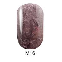 Гель-лак Naomi Metallic Collection M16, 6 мл
