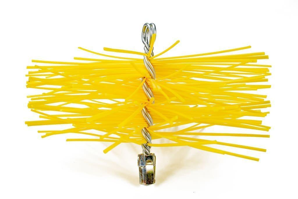Щетка (ерш) пластиковая для чистки дымохода Savent 250 мм