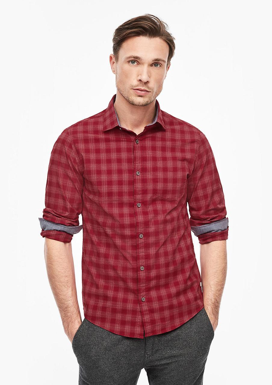 Рубашка s.Oliver 28.912.21.2808 красный