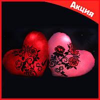 """✨💖Плюшевая подушка """"Розы"""" на 8 марта (с подсветкой)💖✨"""