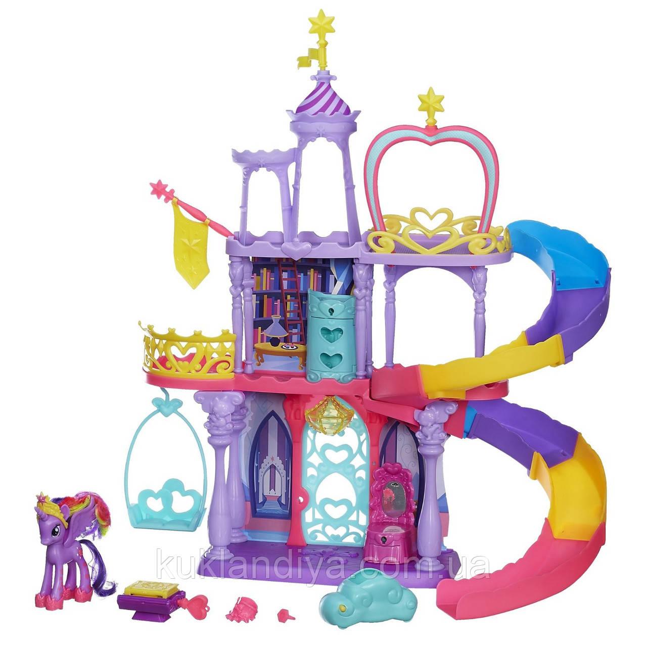 Радужный замок принцессы Твайлайт Спаркл My Little Pony - Friendship Rainbow Kingdom Playset