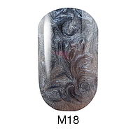 Гель-лак Naomi Metallic Collection M18, 6 мл