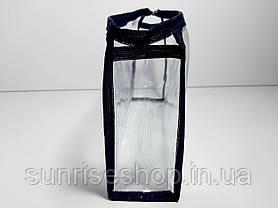 Косметичка прозрачная прямоугольная купить оптом, фото 2