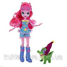 Кукла Пинки Пай пижамная с питомцем My Little Pony